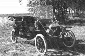 T-Ford Touring uit 1909